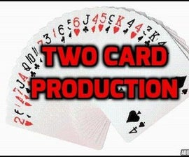 How to Do Awesome Two Card Producton