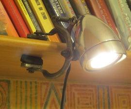 自行车车灯架灯