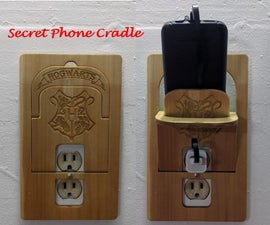 Secret Phone Cradle (I made it at TechShop)