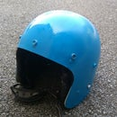 Augmented Moped Helmet