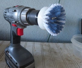 Power Brush - Drill Attachment