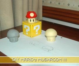 DIY Mario's Mushroom Toy !!!