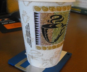 Floppy Disk Coaster Holds 1.44MB of Your Favorite Beverage - Hot or Cold!