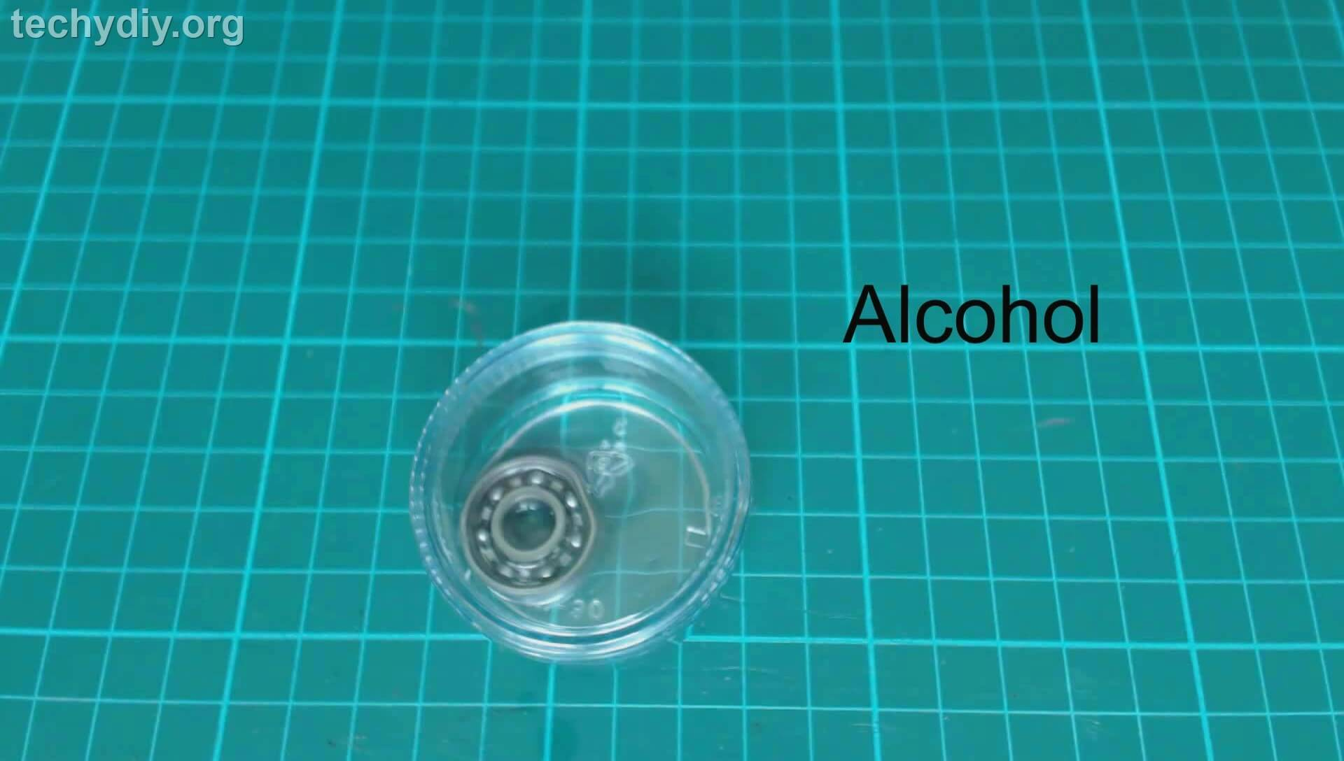 Picture of Modify the Bearing for Increased Speed