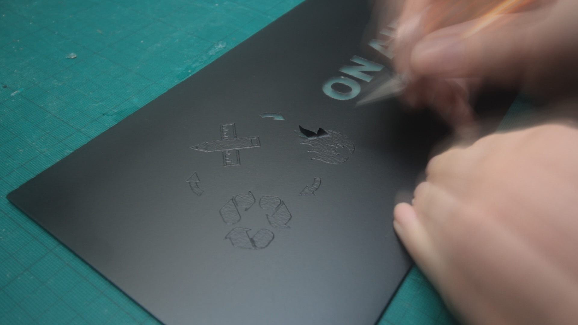 Picture of Preparing the Front Plate...