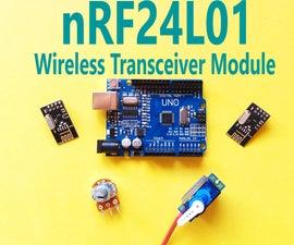 Arduino - NRF24L01 Wireless Transceiver Module