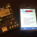 Send Texts with Intel Edison (Party Alarm)