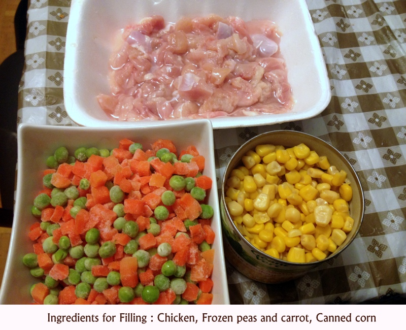 Picture of Ingredients for Filling