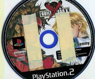 Make PS2 Purple Discs Read in Your PS2 Simply by Using Tape
