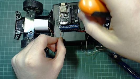 Attaching the Motors