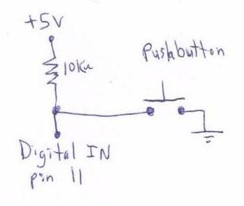 Picture of Schematic Push Button