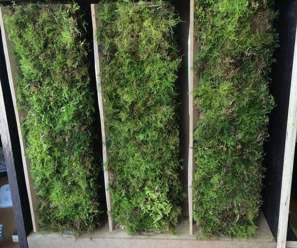 Arduino Powered Moss&Solar Facade Element