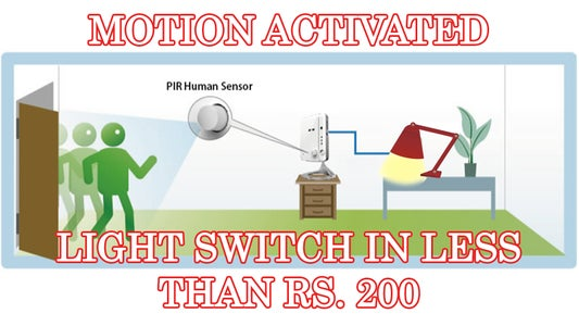 Home Automation: Build a Motion Sensing Light Switch in Less Than $3