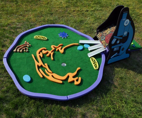 Human Cell Mini Golf