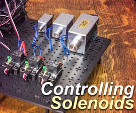 Control a Solenoid with Arduino