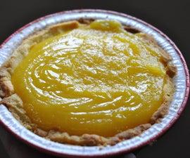 Lemon Curd Sugar Cookie Pie