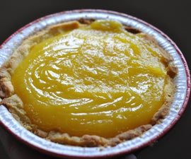 Lemon Curd Sugar Cookie Pie