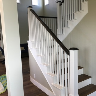 Picture of Converting an Old Staircase to Look New and Modern