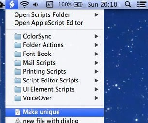 AppleScript for Creating a Text File in the Current Finder Directory