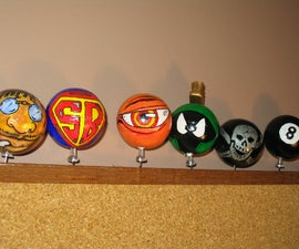 Custom Antenna Balls