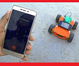How to Make a Mobile Controlled Robot   DTMF Based   Without Microcontroller & Programming   Control From Anywhere in World   RoboGeeks
