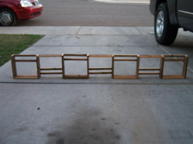 Picture of How to Build a Custom Shelf Unit: Recycling at the Same Time