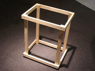Attach the Final Side Pieces to Complete the Frame!