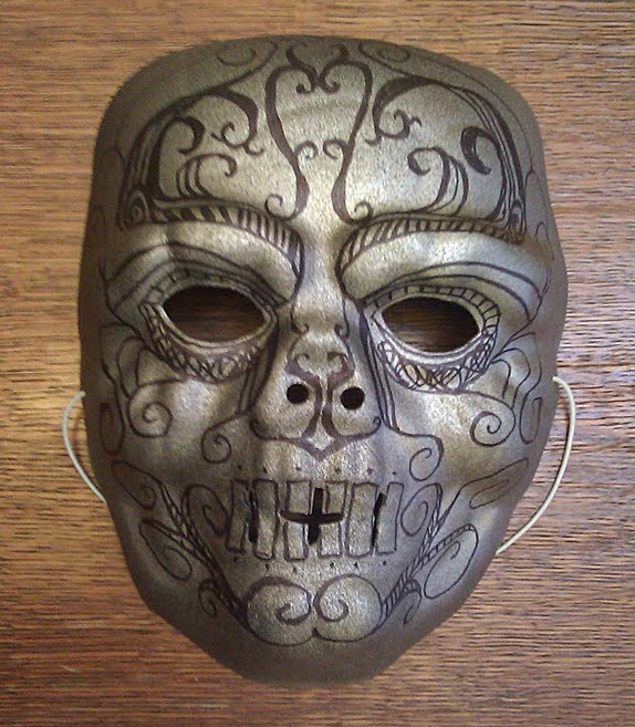 Picture of Death Eater Mask