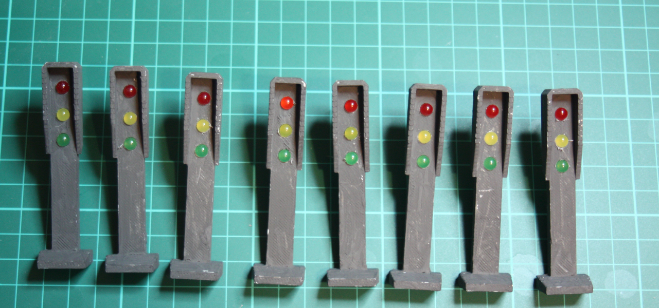 Picture of Traffic Lights and Testing