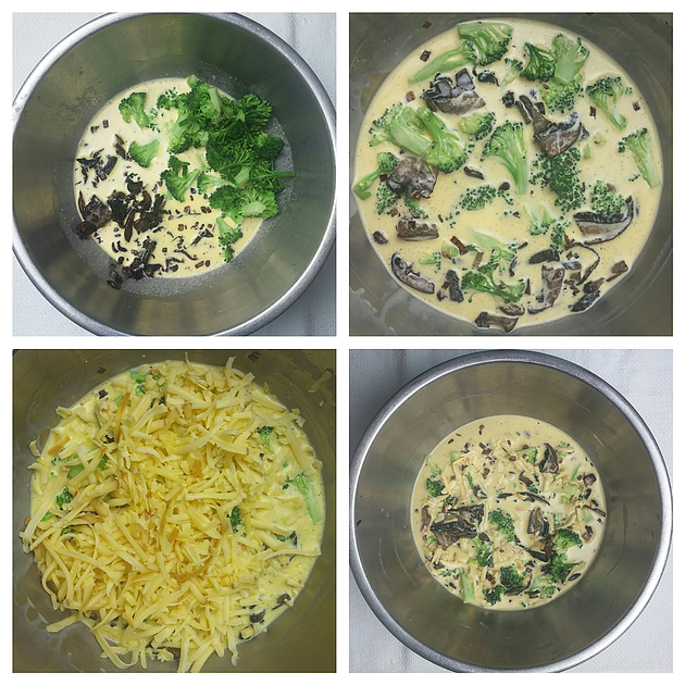 Picture of Add Prepared Vegetables and Cheese