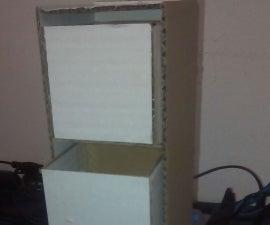 Easy Cardboard Organizer