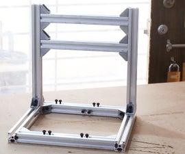 DIY PCB Milling Machine - Part 1 - Building Frame