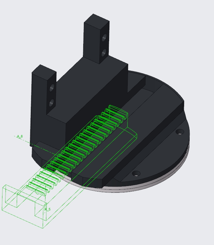 Picture of Adding the Servo Motor