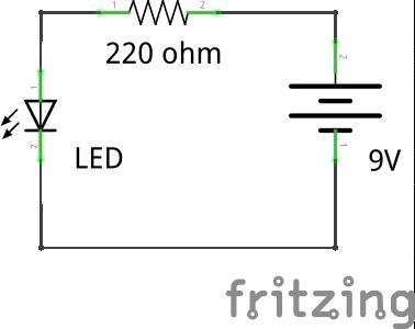 Make a Simple LED Circuit