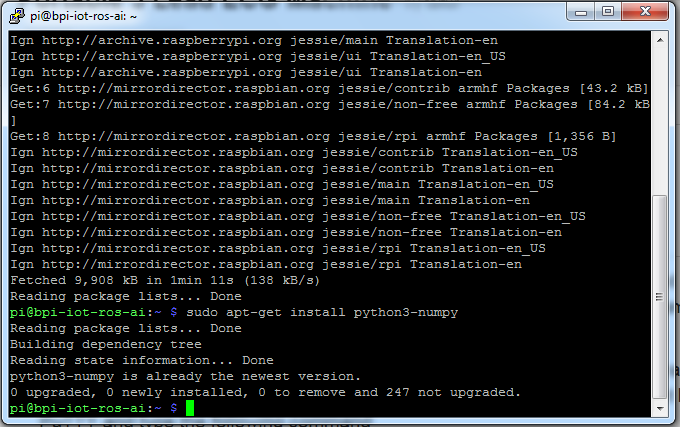 Picture of Uploading the Python Programs to Banana Pi