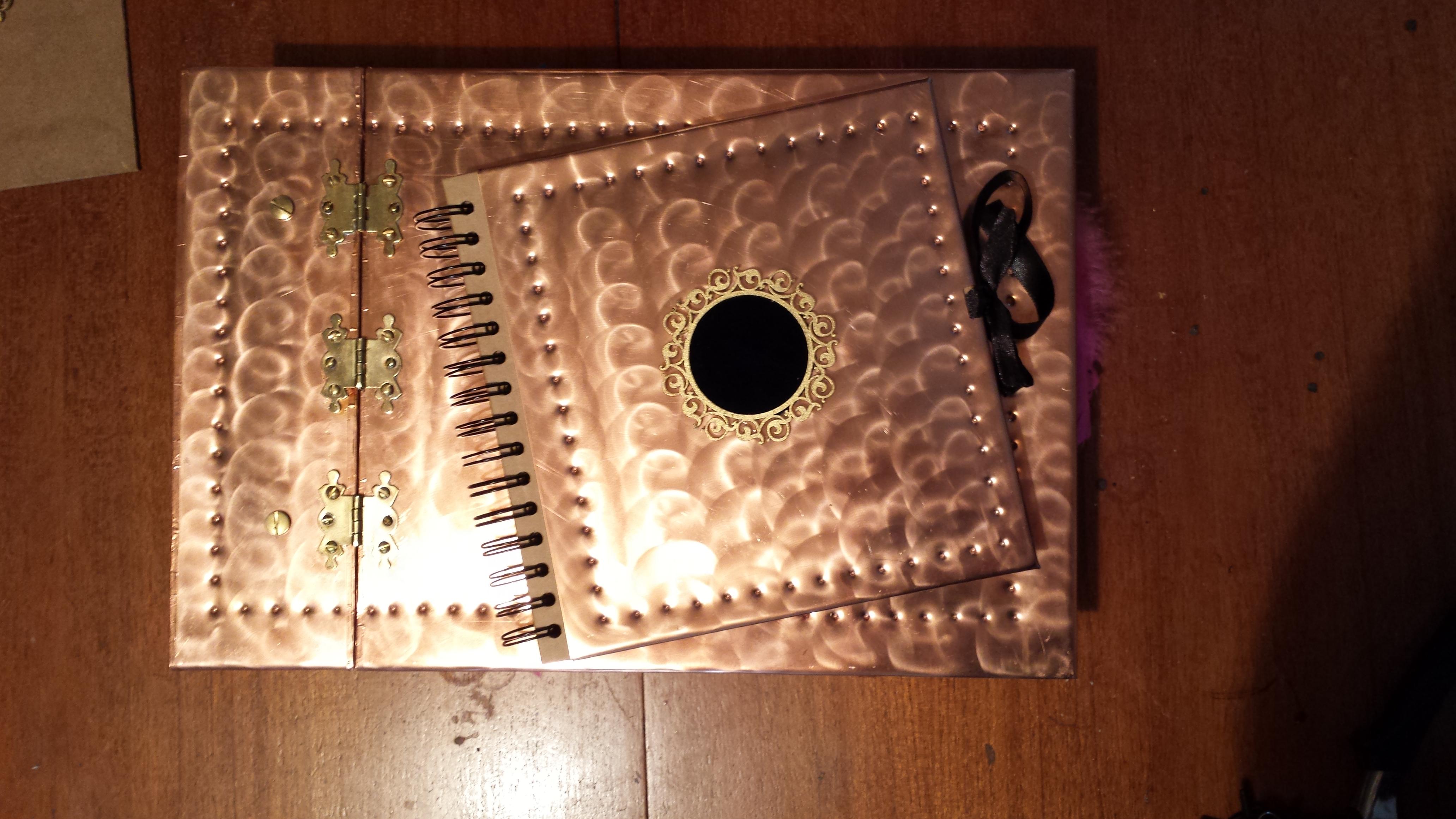 Picture of Copper Guest Book & Photo Album