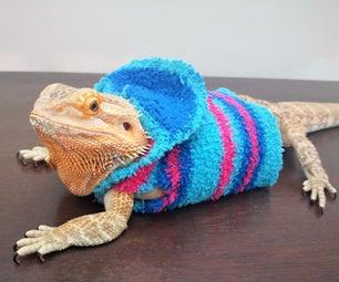 No-Sew Bearded Dragon Jacket