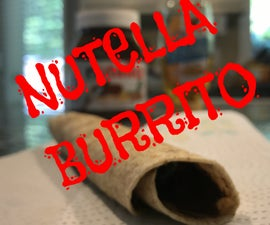 Nutella Honey Wrap Burrito