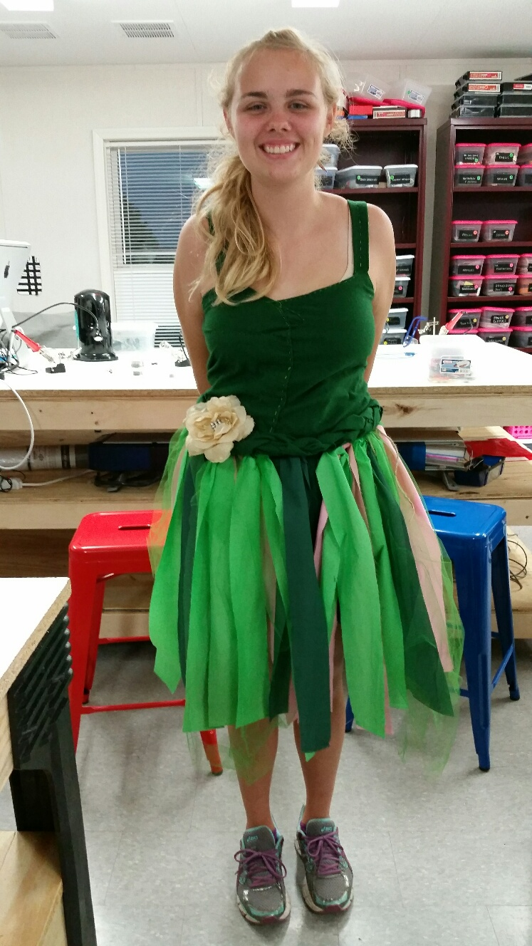 Picture of Tinker Bell Costume With Light Up Wings