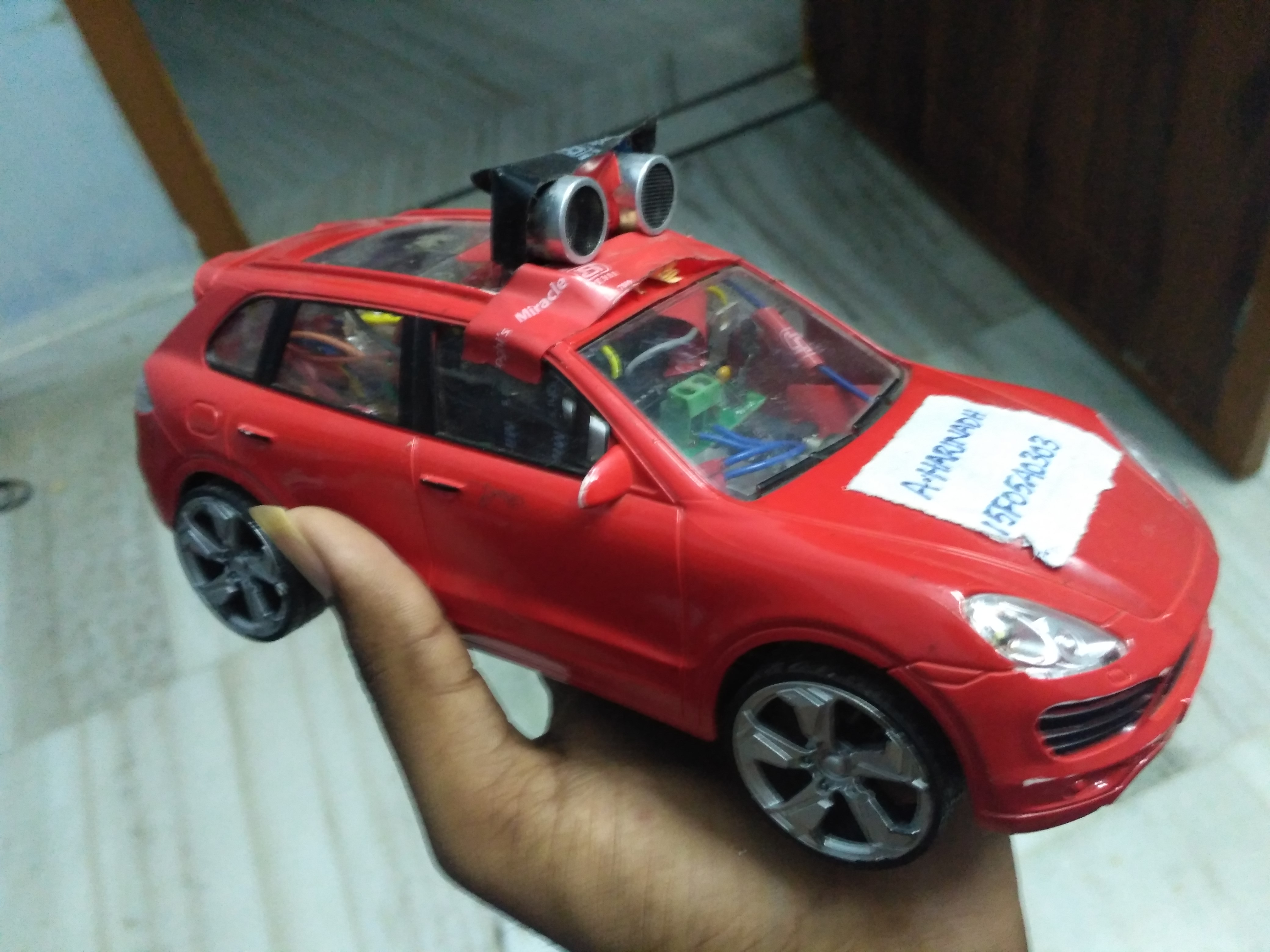Picture of Bluetooth Controlled Anti Collision Car With Arduino