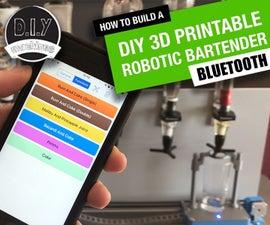 Arduino Robotic Bartender - 3D Printable & Bluetooth