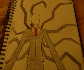 How to Draw: Slender Man