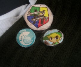 Cheap and easy buttons (pins)