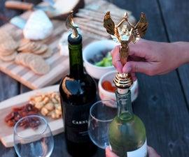 trophy bottle topper