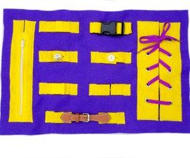 Montessori-Inspired Soft Busy Board