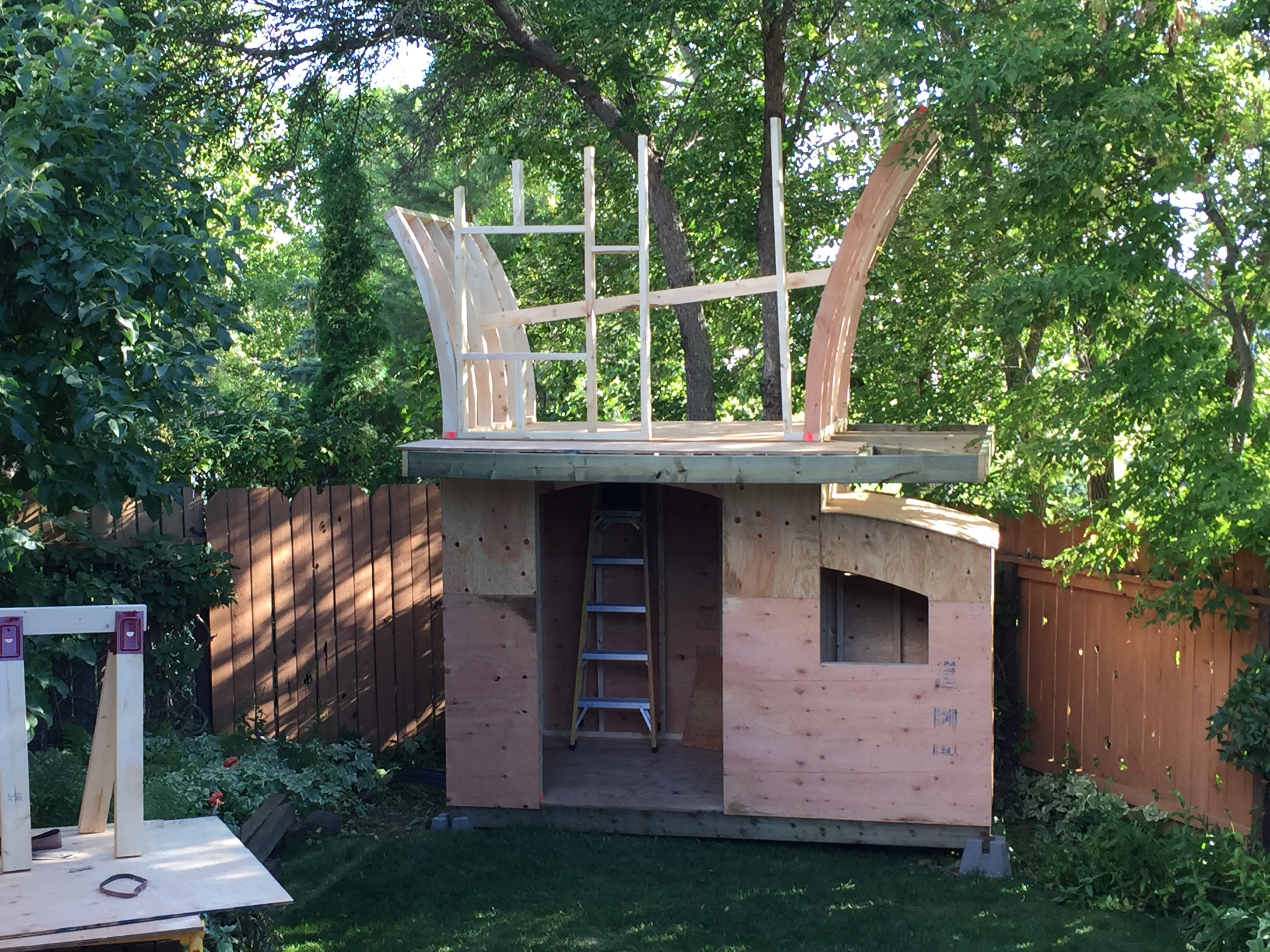 Picture of Building the Playhouse