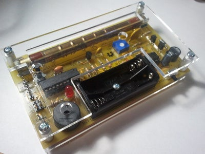 Assemble the Geiger Counter