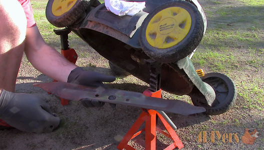How to Replace a Mower Blade
