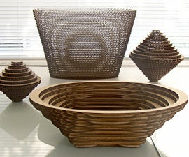 3D Solids constructed from Concentric 2D Morphing Shapes