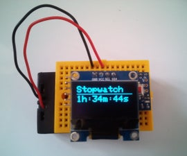 A Simple, Practical Arduino Stopwatch